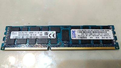 IBM 8GB PC3-12800R DDR3-1600 REGISTERED ECC RDIMM 90Y3111