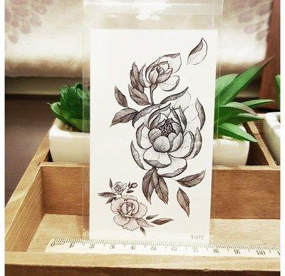 【萌古屋】點點花朵 - 男女防水紋身貼紙刺青貼紙 T-072 K15
