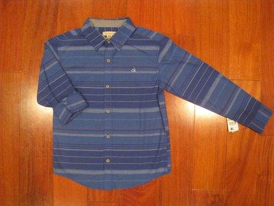 Calvin Klein Jeans 男童休閒襯衫 尺寸S