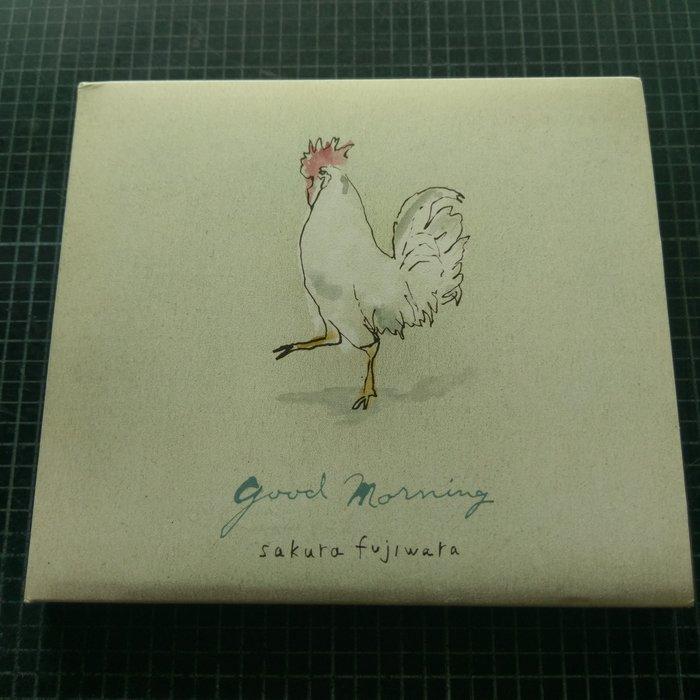 ※藏樂小舖※ (日文CD) 藤原櫻~GOOD MORNING