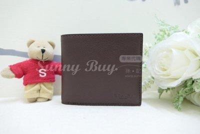 【Sunny Buy精品館】◎現貨出清◎Coach 74991 咖啡色真皮短夾 信用卡 名片 低調時尚