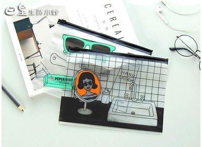 【日皇二館】韓版化妝包 現貨 韓版創意文件夾 票據收納包 大容量收納袋 筆袋 洗漱包 旅行包 手拿包 盥洗包 雜物包