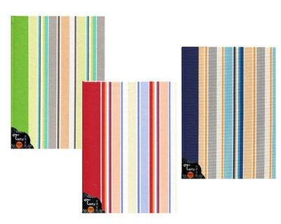 日本NCL 京友禪染百年彩內頁彩虹條紋 A4布面自黏相本相簿 (A4B-201B)