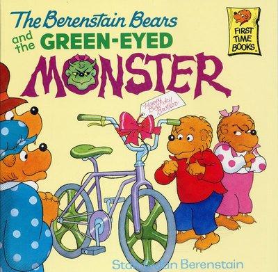 *小貝比的家*THE BERENSTAIN BEARS AND THE GREEN-EYED MONSTER/7~12歲
