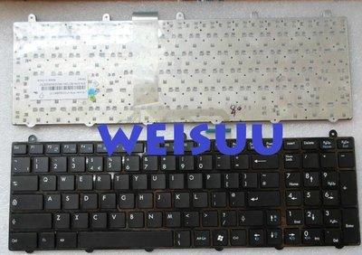 {偉斯科技}MSI MS-1755 MS-1756 CX605 CX705 適用鍵盤