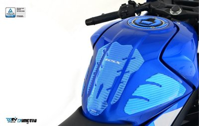 【R.S MOTO】SUZUKI GSX-S150 GSX-R150 油箱貼 雷射壓紋 (藍/紅) DMV