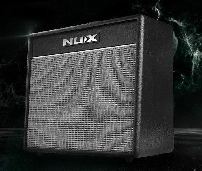 ☆唐尼樂器︵☆免運費 NUX Mighty 40BT 電吉他 數位音箱 40瓦 藍牙連結 App 內建鼓機 40 BT