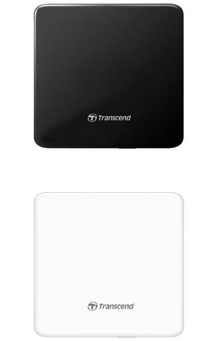 【HAHA小站】創見 Transcend 超薄 Slim 外接式 DVD 燒錄機 8X 光碟機 USB 電腦週邊 黑色