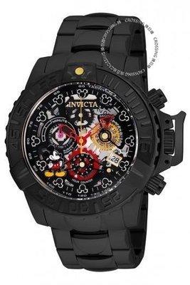 展示品 Invicta 24505 Disney® 47mm Subaqua Noma II Ltd Edition Chronograph Men