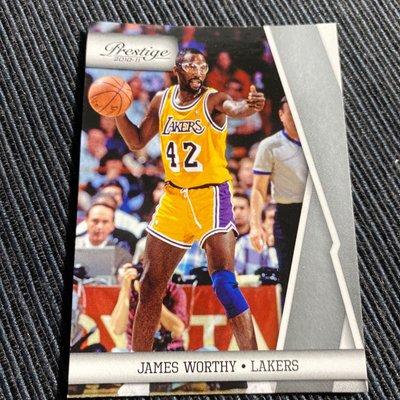 James Worthy 10/11 Prestige #131 Base