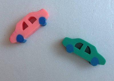 《**一元商品** 》汽車造型、方塊橡皮擦  ~~