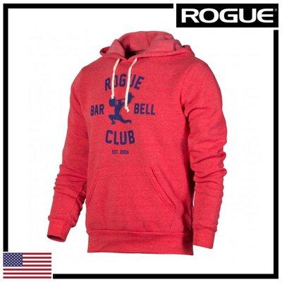 ►瘋狂金剛◄ 紅/藍 ROGUE BARBELL CLUB 2.0 HOODIE 槓鈴俱樂部2.0 帽T