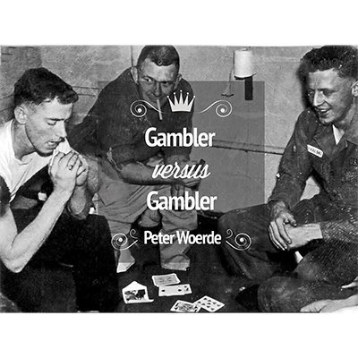 [魔術魂道具Shop] 美國原廠~Gambler VS Gambler by Peter Woerde賭徒對決~強力推薦