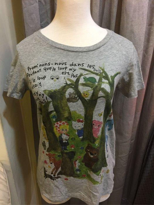 UT優衣庫灰色Tshirt