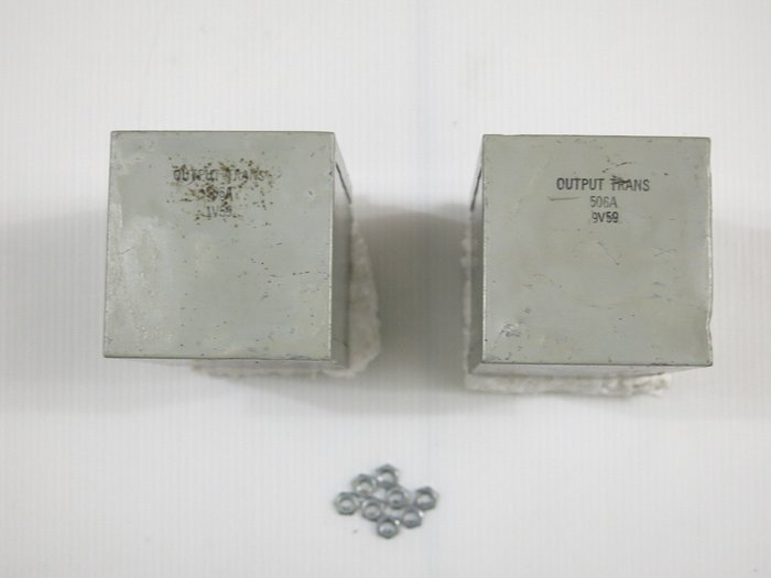 美國 西電 WE Western Electric 506A 前級輸出變壓器 50K:600Ω 一對