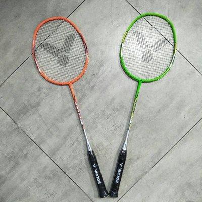 勝利 VICTOR JETSPEED S 亮劍系列 羽球拍 (已穿線) 型號:JS-DF001  碳纖維拍