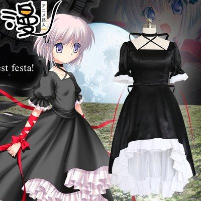 奇奇【漫路人】rewrite+篝神戶小鳥cos禮服動漫cosplay服裝女裙子