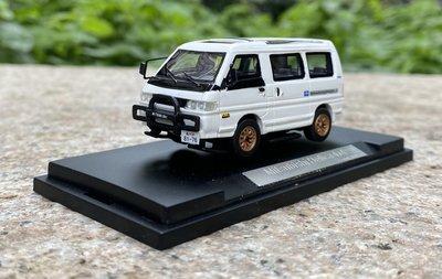 汽車模型MC 1:43得利卡消防車本田雅閣1:64三菱得利卡4*4L300汽車模型特價