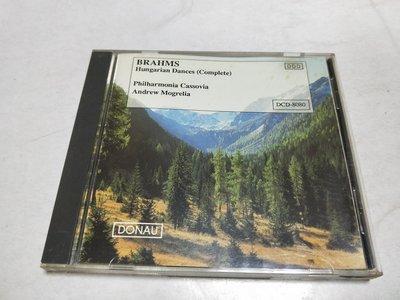昀嫣音樂(CD147) BRAHMS: Hungarian Dances 售出不退