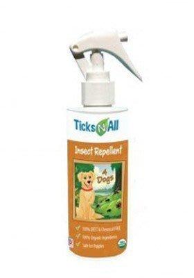 美國Ticks N all唯你安犬用跳蚤壁蝨噴劑8oz~USDA認證100%有機 可防蚊蒼繩恙蟎害蟲