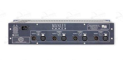 曼麗 Manley Force 4 通道四通道話放電子管話筒前置放大器