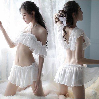可愛少女平口露背兩件式睡衣 3-59 情趣內衣性感睡衣內衣SM用品 角色扮演 現貨+預購