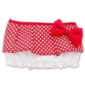 掌上型全機種通用 HORI 日本原裝進口多功能 米妮蕾絲裙樣式收納包 化妝包【板橋魔力】