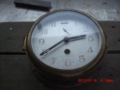 早期 全銅古董船鐘