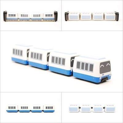 【喵喵模型坊】TOUCH RAIL 鐵支路 Q版 捷運木柵線(標準版)小列車 (QV013T1)