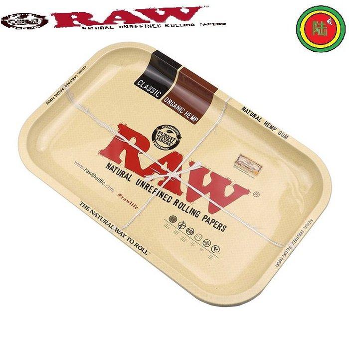 【Triple6】西班牙原裝 RAW Rolling Tray 捲菸盤 捲煙盤 鐵盤(MINI)