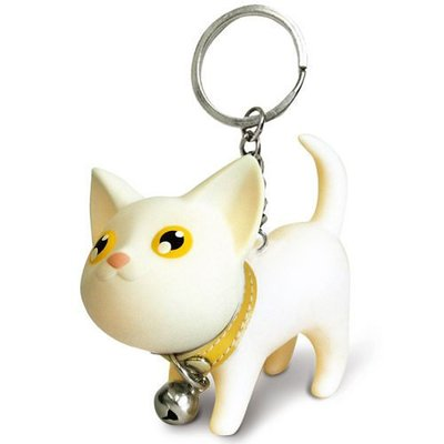 最後出清! 香港LUFT正版的 Kat 凱特貓鑰匙圈 白貓