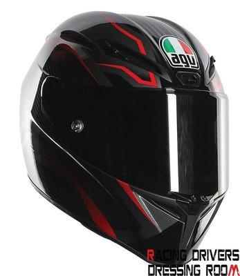 ♚賽車手的試衣間♚ AGV® AGV GT-Veloce TXT Black/Gunmetal/Red 安全帽
