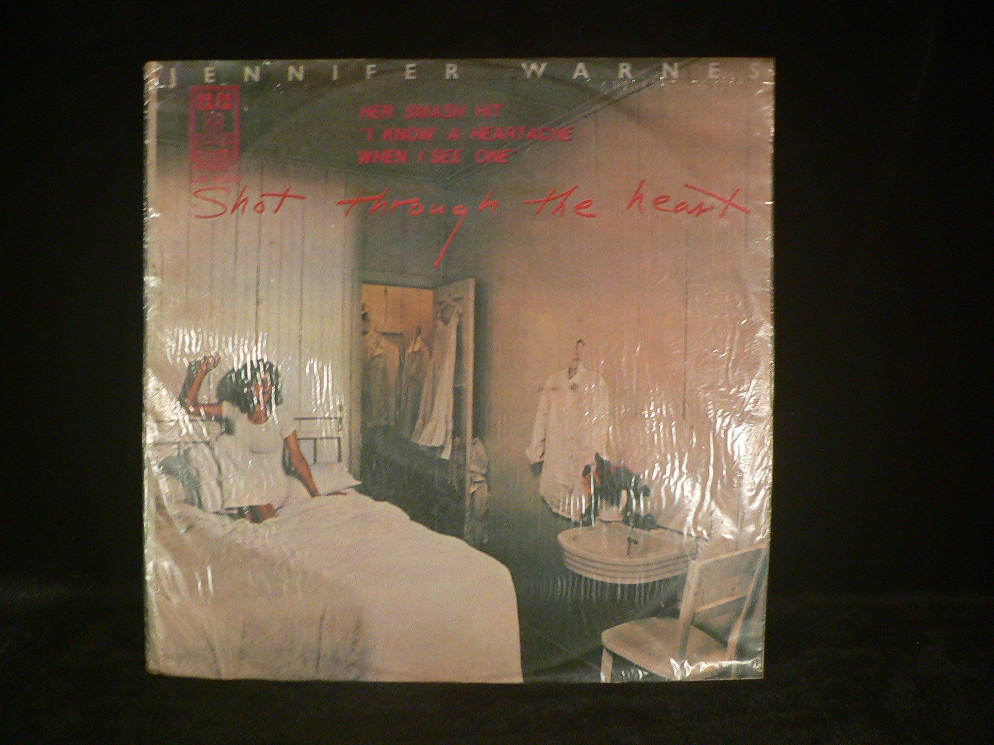 乖乖@賣場(LP黑膠唱片)12吋西洋黑Jennifer Warnes – Shot Through The Heart