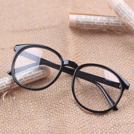 鏡框韓版平光眼鏡有鏡片男女士款潮復古豹紋裝飾眼睛眼鏡框架
