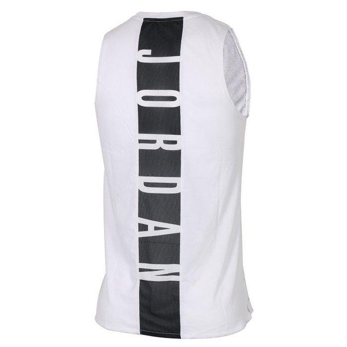 Nike Jordan 23 Alpha Tank 白黑 籃球背心  892072-100 -SPEEDKOBE-