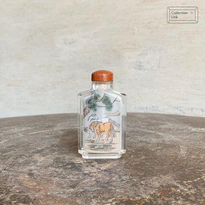 鼻煙壺 馬 收藏 擺飾 裝飾【AQ026】