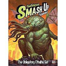 大安殿實體店面 Smash Up The Obligatory Cthulhu Set 擴充 正版益智桌上遊戲