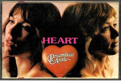 紅心合唱團Heart  / Dreamboat Annie 安妮的夢之船(原版錄音卡帶.附:歌詞本)