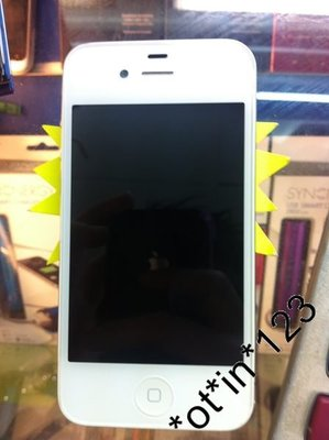 99% new Apple iPhone 4S 白色行貨 16GB IOS7 行貨ZP機 沒有JB 有壞包退 自設門市