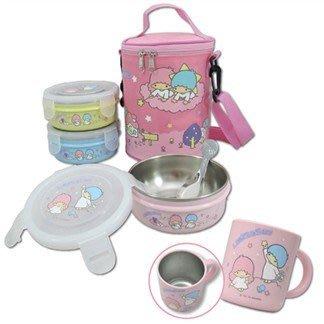 41+現貨免運費 雙子星 兒童環保餐具組 兒童杯 組合價  304不鏽鋼  MY4165