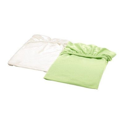 【IKEA】全新熱賣嬰兒床包2件組.可替換.棉質純淨柔軟.60x120.多色床單床罩-寶貝更舒適! 桃園市