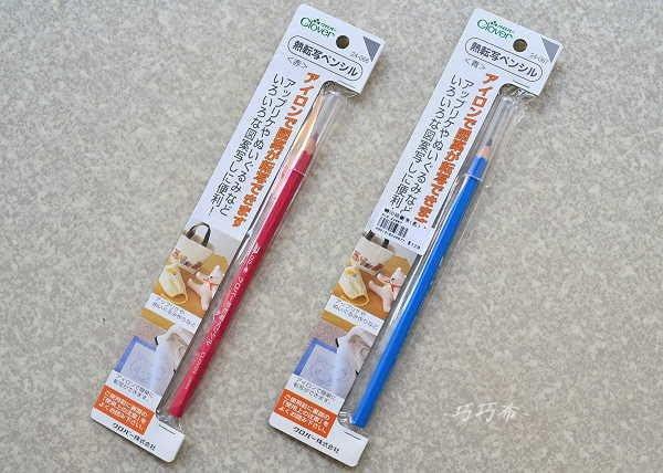 *巧巧布拼布屋* 24-066可樂牌轉印描圖筆 紅色賣場/ 熱轉寫筆-藍色 / 拼布材料工具