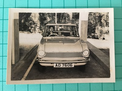 老照片-老車