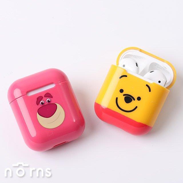 【CAMINO AirPods硬式保護套】Norns 迪士尼正版 iPHONE藍芽耳機充電套 維尼米奇 熊抱哥三眼怪