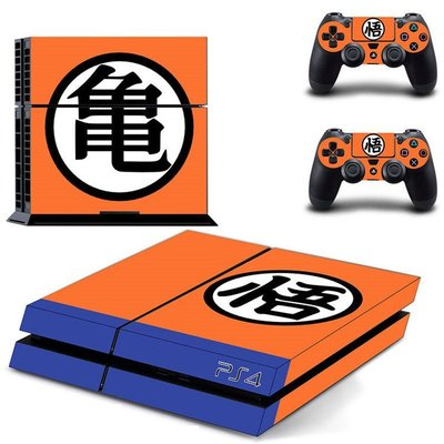 PS4 经典七龙珠 机身贴纸 保护贴 游戏动漫彩贴 痛机贴 送手柄贴
