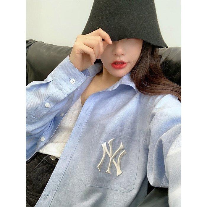 ❤Princess x Shop❤藍色字母刺繡防曬設計感外套TA20-55-9韓國同款