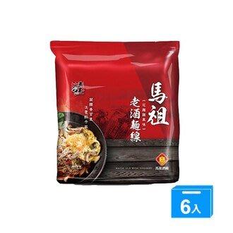 五木馬祖老酒麵線花雕雞風味95G*4*6