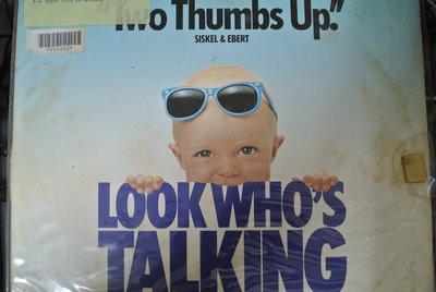 LD 影集 ~ 看誰在說話 LOOK WHO'S TALKING ~ 1989 RCA V10292 無IFPI