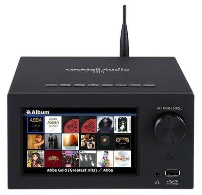 入門級機種【新竹名展音響】加碼贈2T硬碟 Cocktail Audio X14 全功能藍芽播放機 (X12進階版)