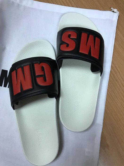 MSGM拖鞋海灘鞋便鞋義大利🇮🇹